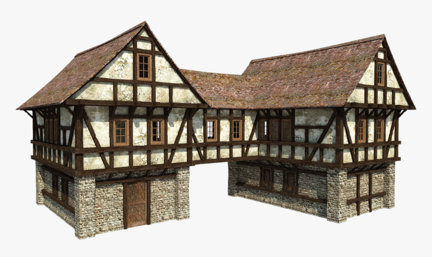 Transparent Minecraft House Png - Medieval Houses, Png Download, Free Download