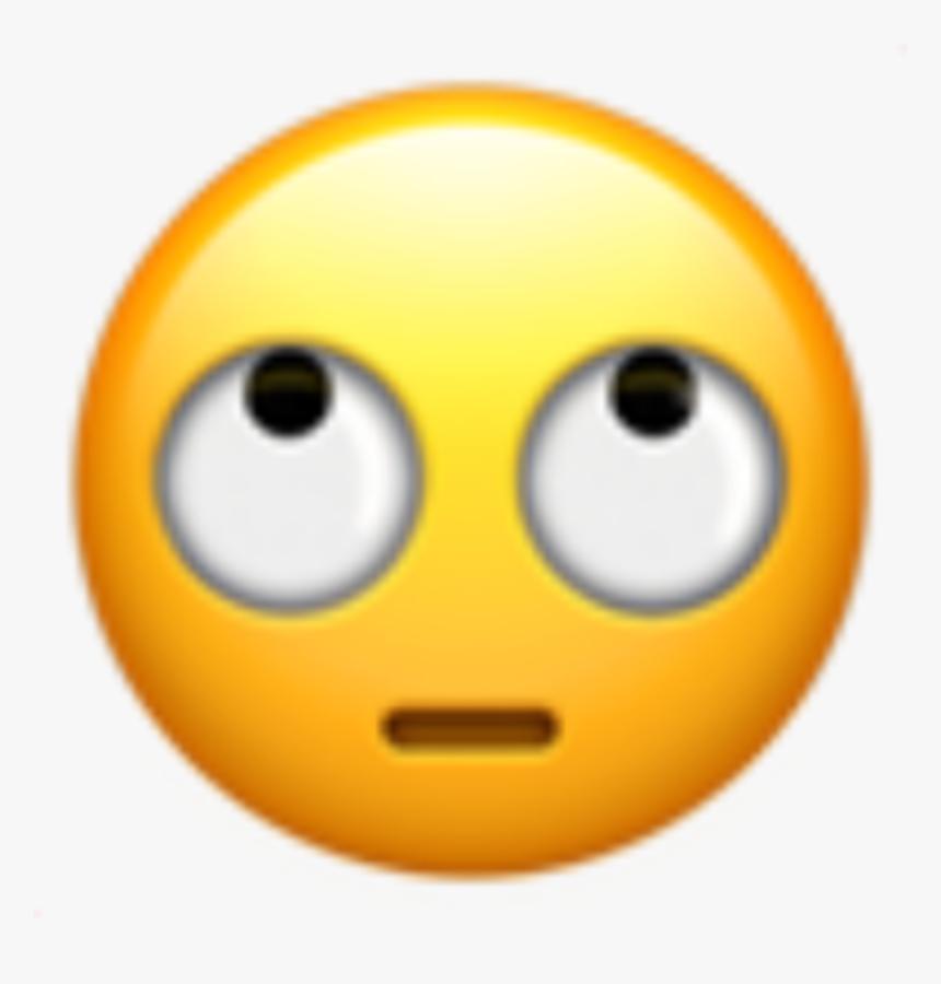 ##emoji #png #edit #tumblr #overlay #freetoedit - Iphone Emojis Rolling Eyes, Transparent Png, Free Download