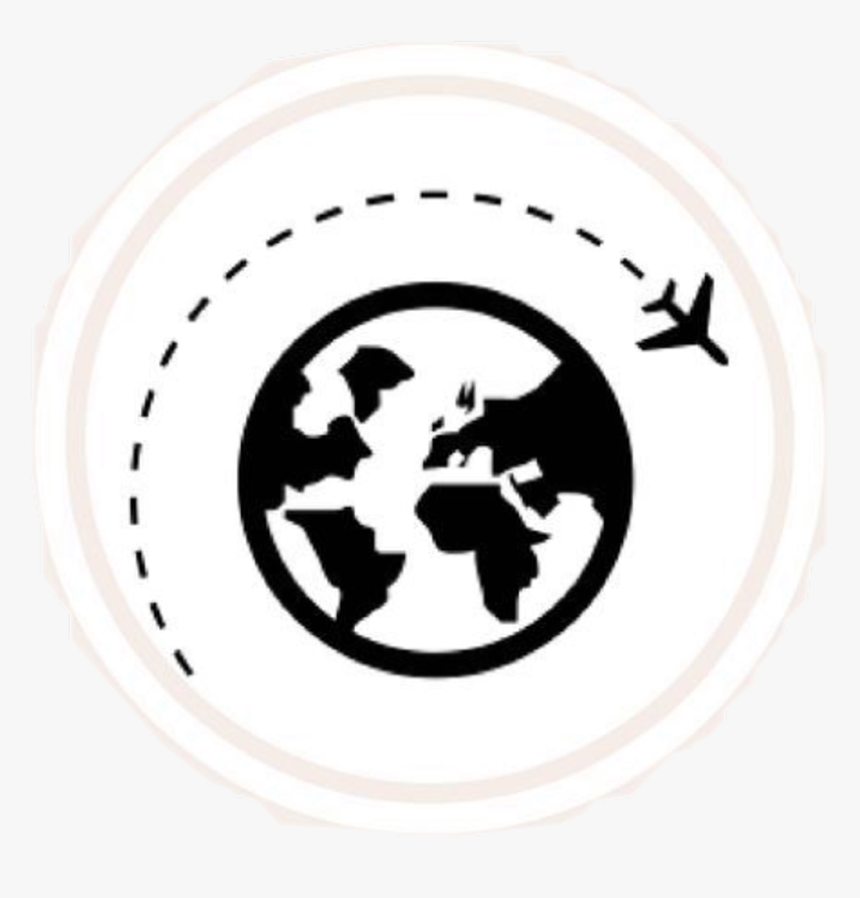 Globe Airplane Earth Icon Grafic Travel Tumblr Travel