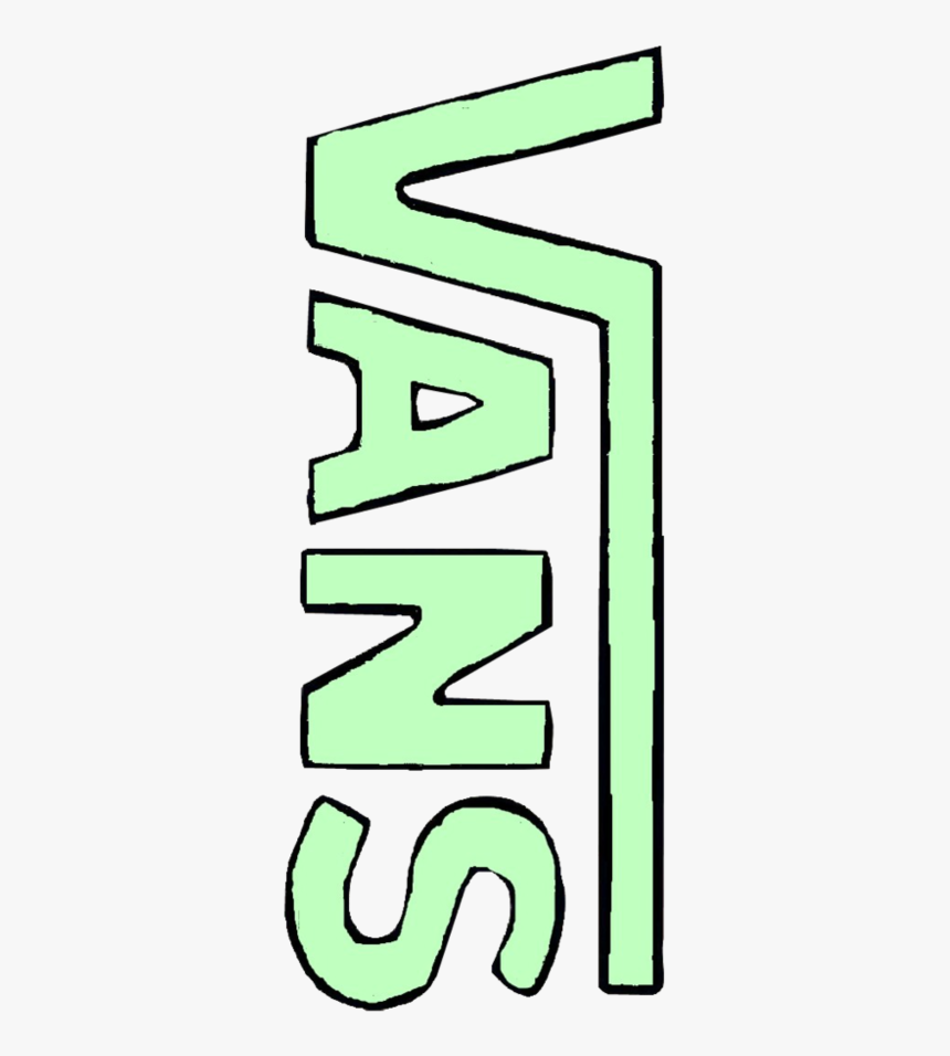 Green Stickers Aesthetic Vans, HD Png Download, Free Download
