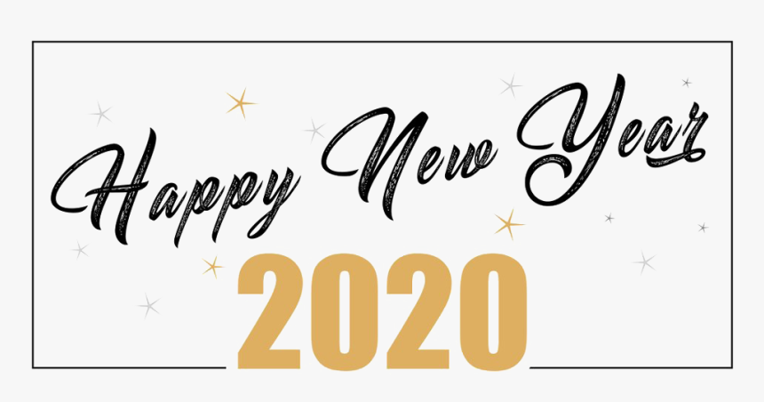 Happy New Year 2020 Png Free Download Happy New Year 2020 Png Transparent Png Kindpng