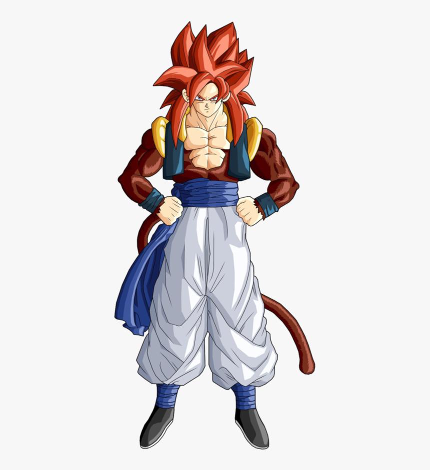 Gogeta Super Saiyan 4 Dragon Ball Gt - Dragon Ball Gt Super Saiyan 4 Gogeta, HD Png Download, Free Download