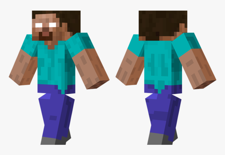 Minecraft Green Steve Skin - Skins De Minecraft Descargar, HD Png Download, Free Download