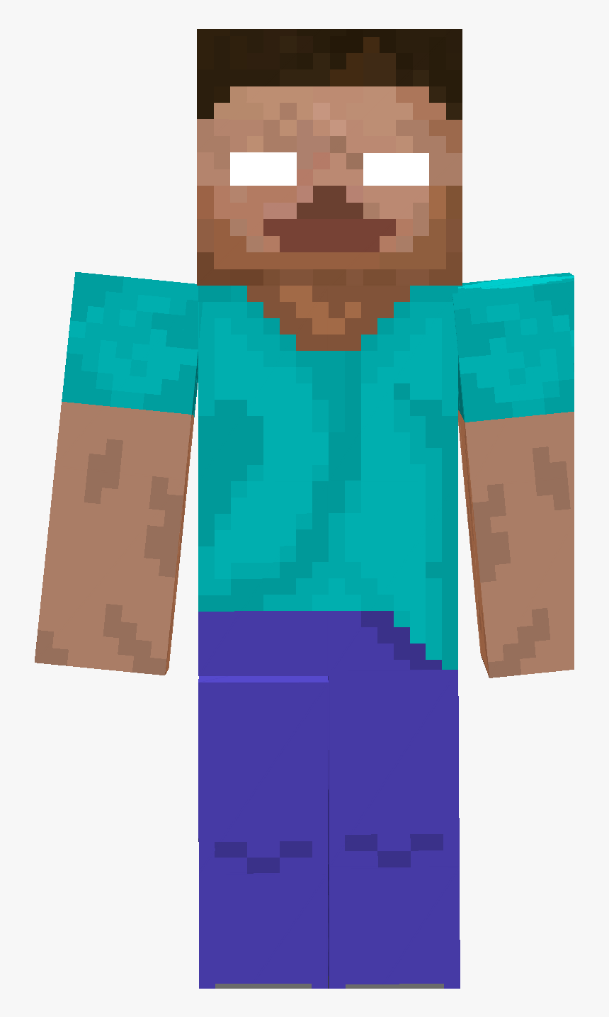 Minecraft Herobrine Skin Love It - Imagenes De Minecraft Estif, HD Png Download, Free Download