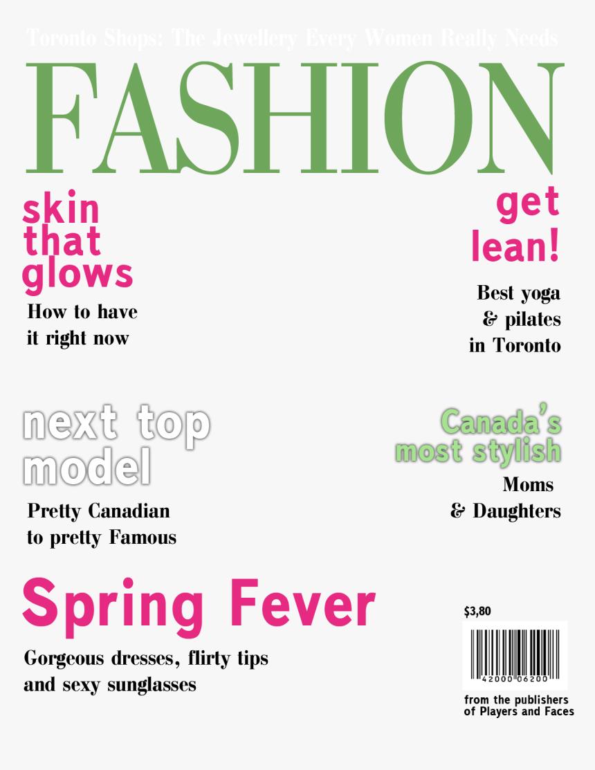 Magazine Cover Design Png Transparent Png Kindpng