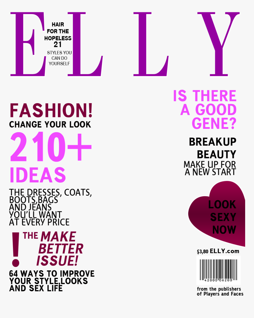 Fashion Magazine Background Template, HD Png Download, Free Download