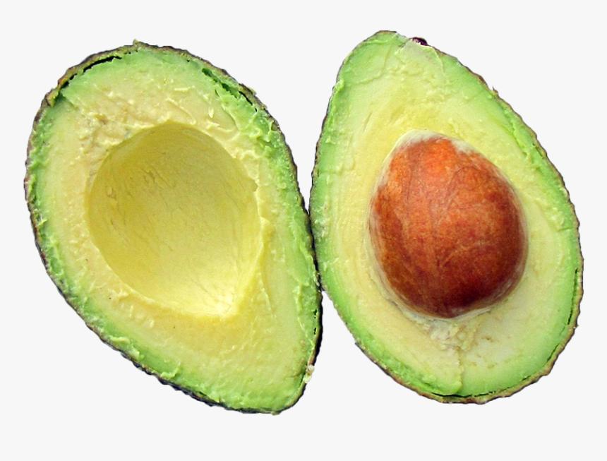 Avocado Png - Fruit Cut In Half, Transparent Png, Free Download