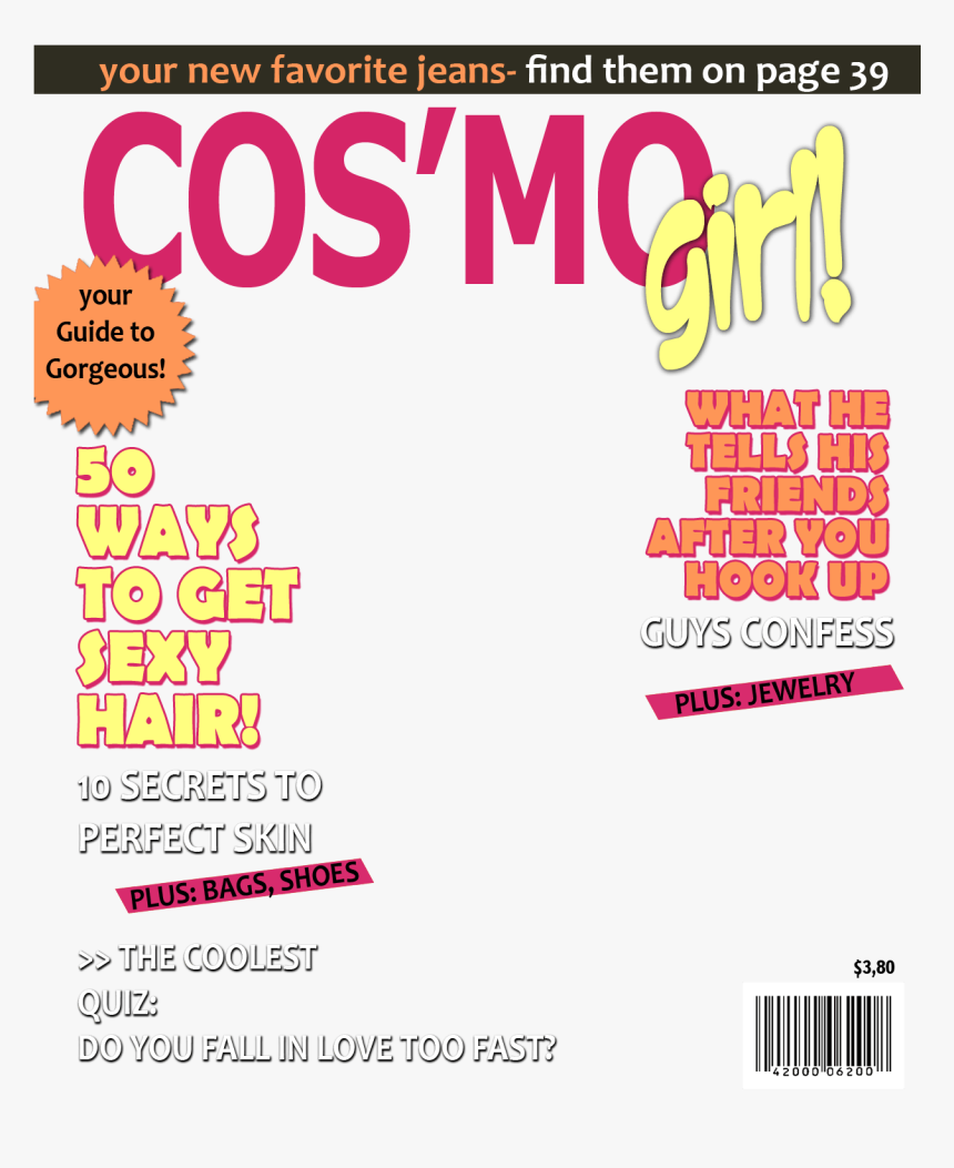 Transparent Clipart Covers - Magazine Cover Template Png, Png Download, Free Download
