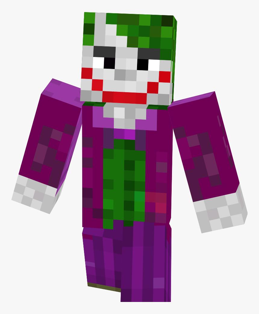 Skin Minecraft Free Fire Joker, HD Png Download - kindpng