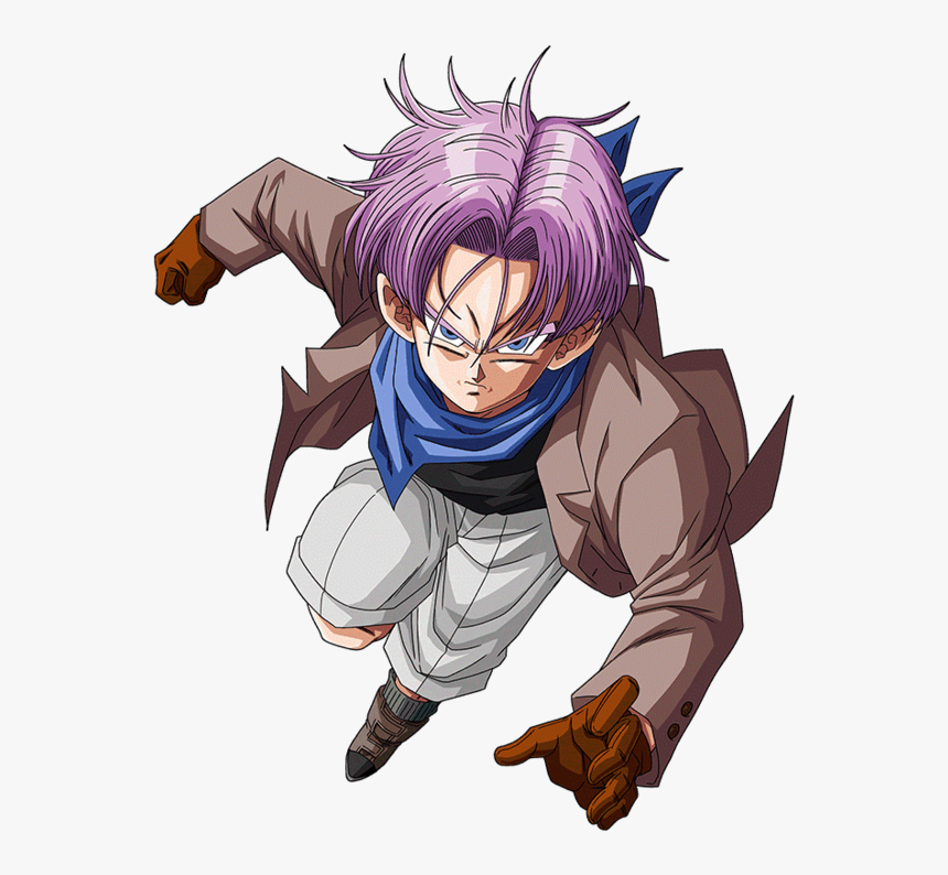 Trunks Gt Render Dokkan Battle By Maxiuchiha22-dccge04 - Trunks Gt Png, Transparent Png, Free Download