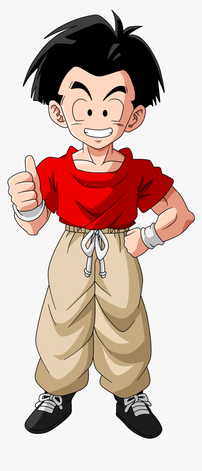 Krillin With Hair - Dragon Ball Krillin With Hair, HD Png Download, Free Download