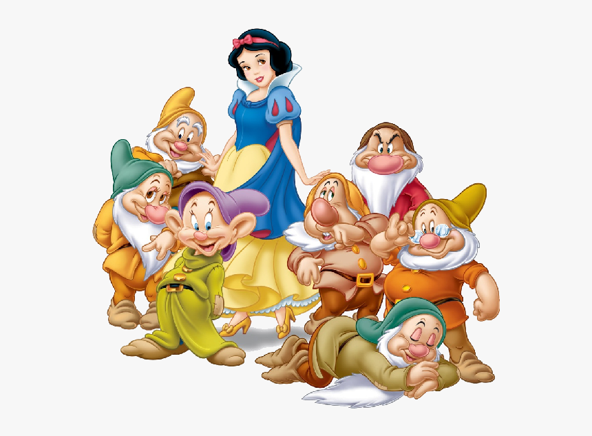 Snow White And The Seven Dwarves-1 - Branca De Neve E Os 7 Anoes, HD Png Download, Free Download