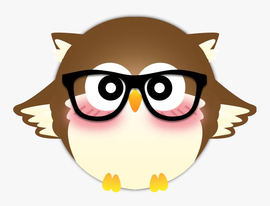 Coruja Com Oculos Png Transparent Png Kindpng