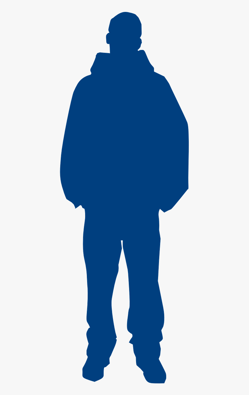 Person In Hoodie Silhouette, HD Png Download, Free Download