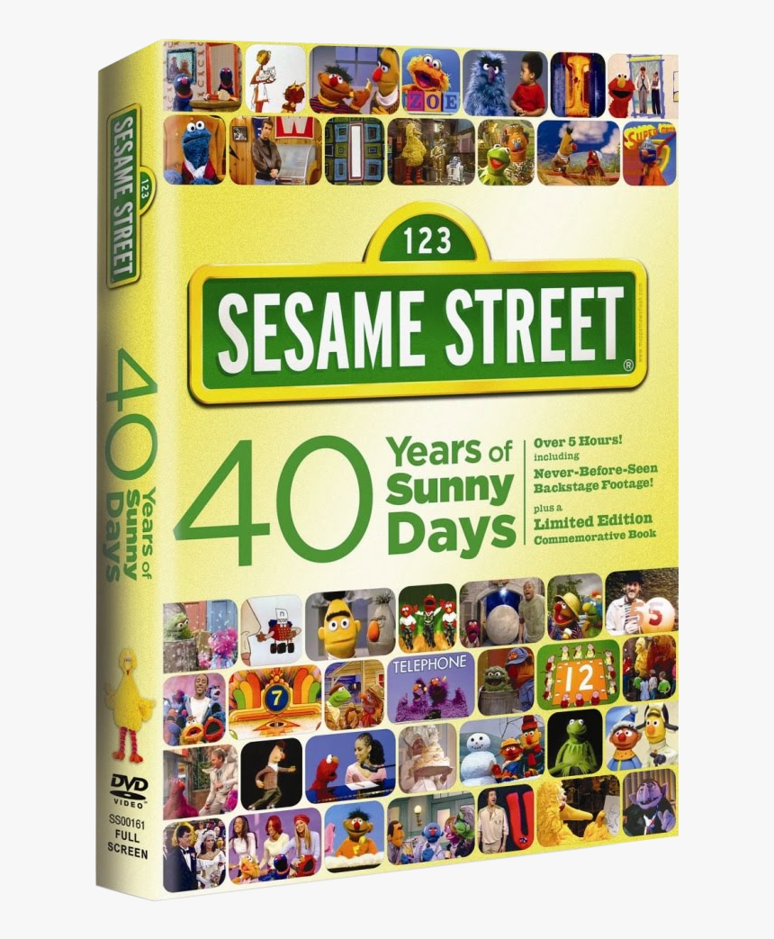 Muppet Wiki - Sesame Street 40 Years Sunny Days, HD Png Download, Free Download