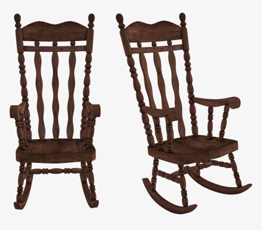 Wooden Rocking Chair Repair - Rocking Chair Png, Transparent Png, Free Download