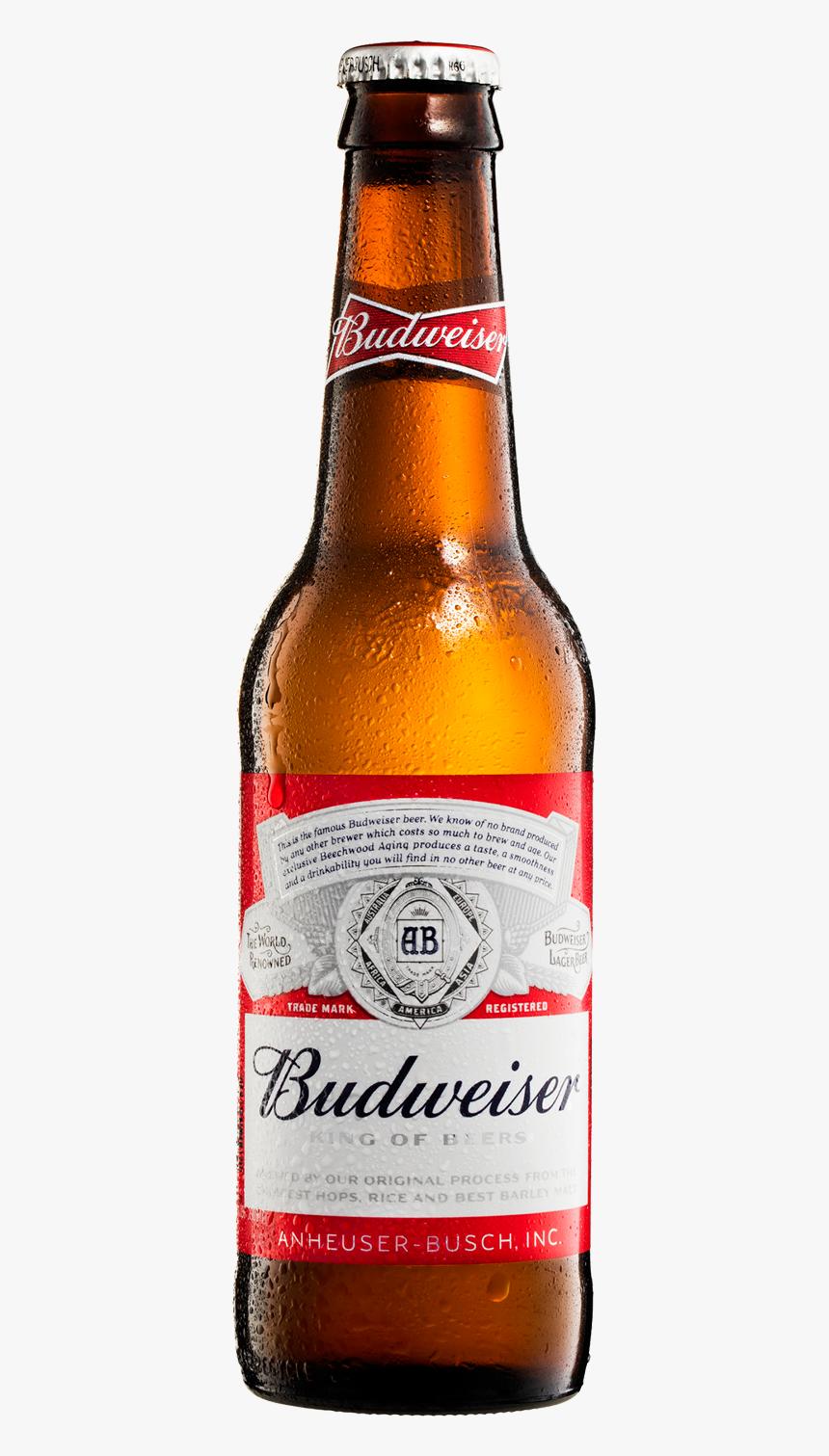 Budweiser Beer Bottle Png, Transparent Png, Free Download