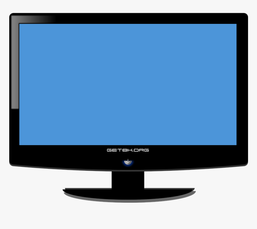 Transparent Plasma Tv Clipart - Monitor Computer Output Devices, HD Png Download, Free Download