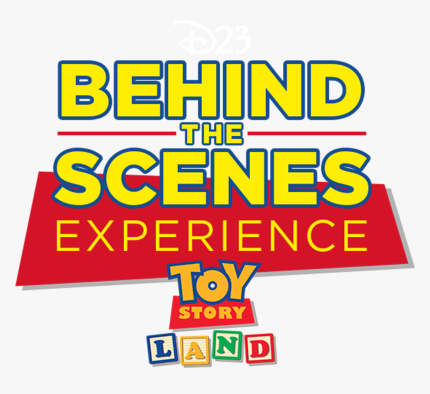 """Tickets For D23""""s Behind The Scenes Experience - Toy Story 3, HD Png Download, Free Download"""