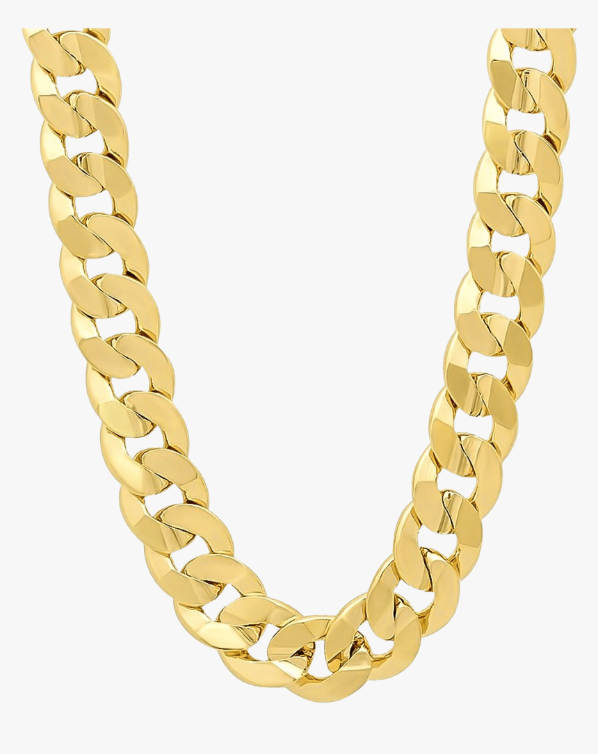 Transparent Chain Clipart - Hip Hop Chains Gold, HD Png Download, Free Download