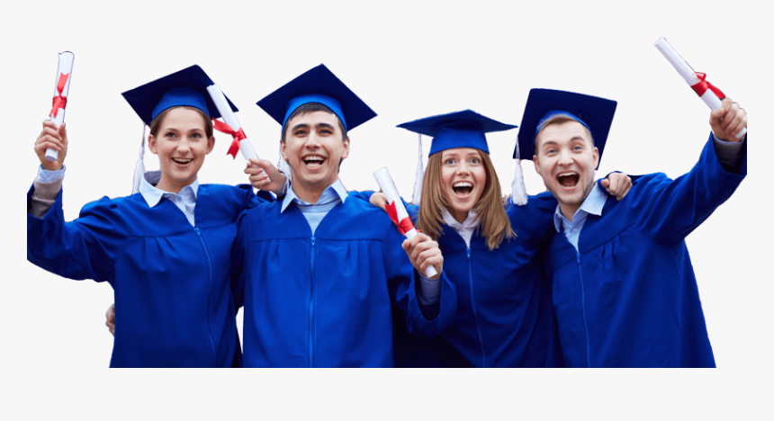 Graduation Gown And Caps Png Hd, Transparent Png, Free Download