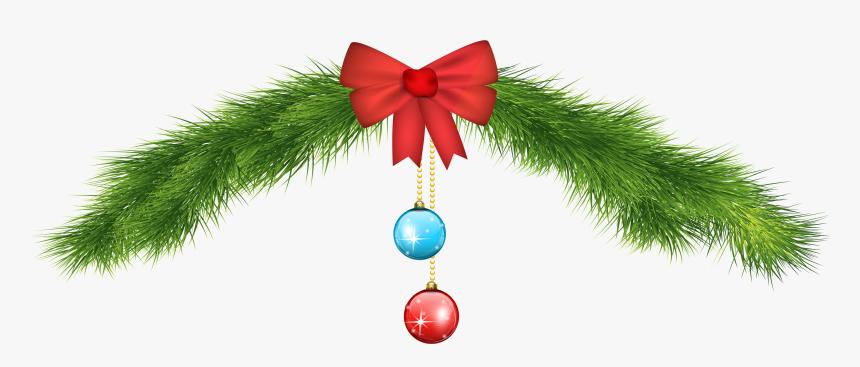Holiday Ribbon Clipart Png Christmas Ornament - Holiday Ribbon Clipart Png, Transparent Png, Free Download