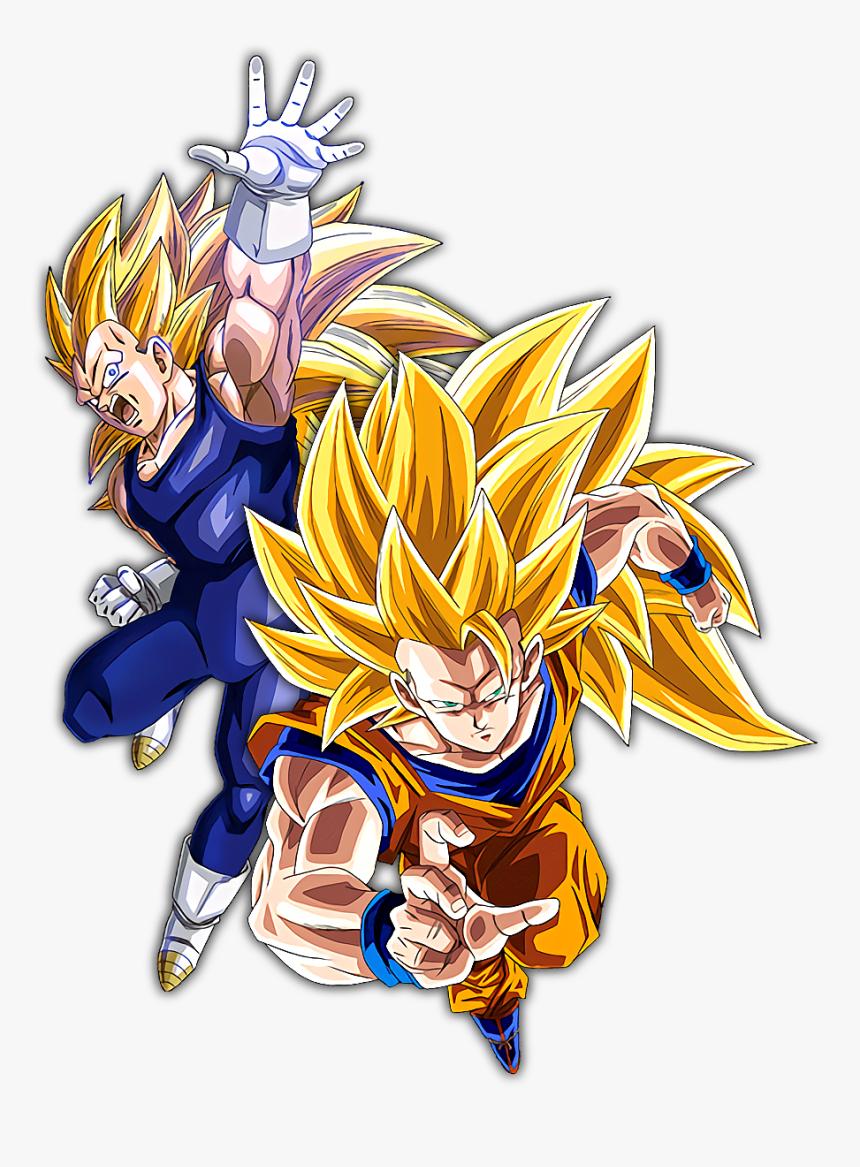 Ssj3 Goku And Vegeta - Goku Ssj3, HD Png Download, Free Download