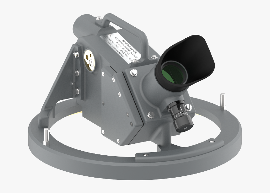 Md60a2k Telescopic Alidade For Use With Marine Data - Camera Lens, HD Png Download, Free Download