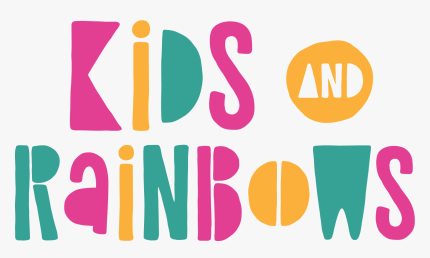 Kids & Rainbows - Graphic Design, HD Png Download, Free Download