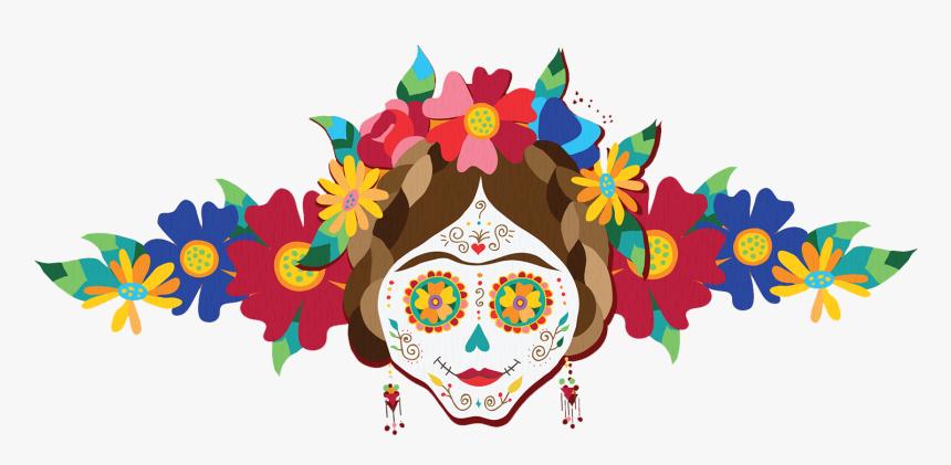 Transparent Dead Flowers Png - Dia De Muertos Png, Png Download, Free Download