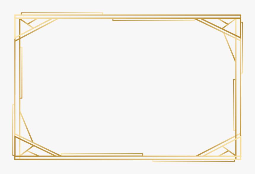 Free Png Silver Frame - Plain Gold Border Png, Transparent Png, Free Download