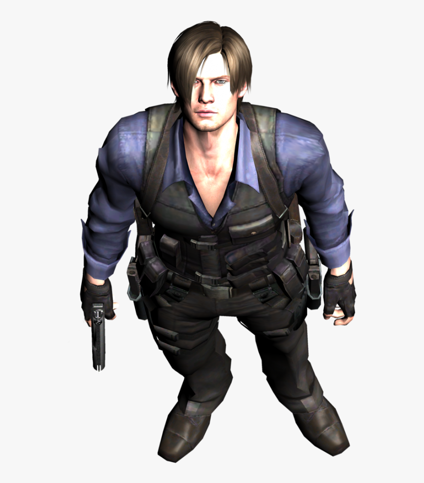 Leon Kennedy Png - Leon S Kennedy Re6, Transparent Png, Free Download