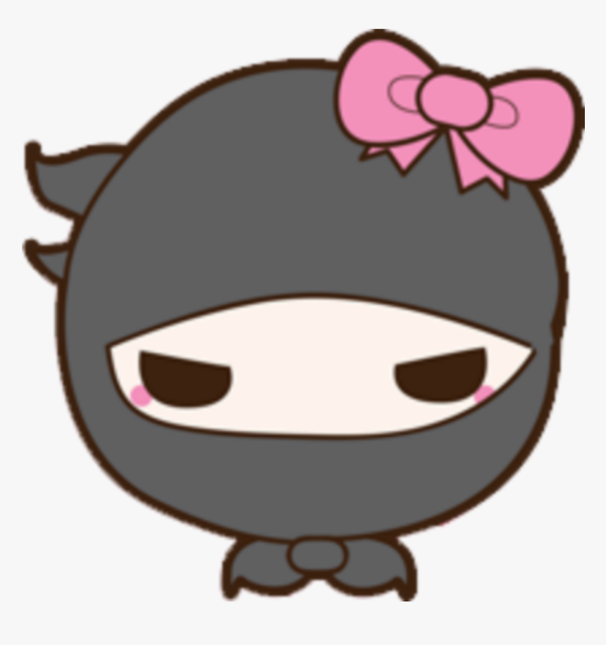 Transparent Ninja Head Png - Girl Ninja Head Clipart, Png Download, Free Download