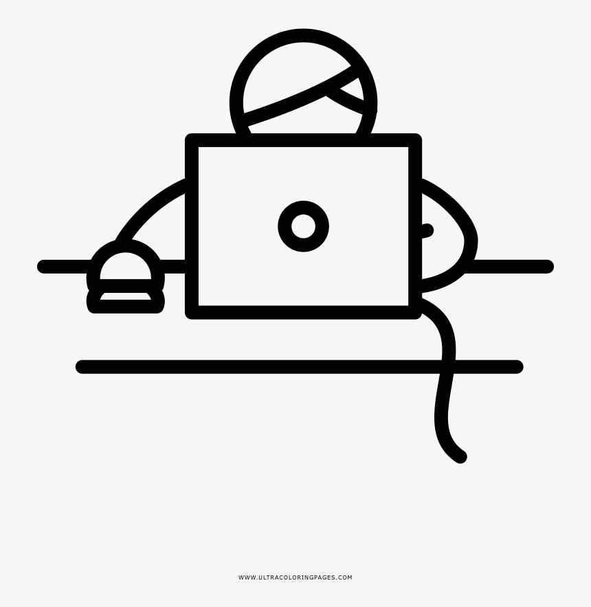 Office Worker Coloring Page - Office Worker Icon Noun Project, HD Png Download, Free Download