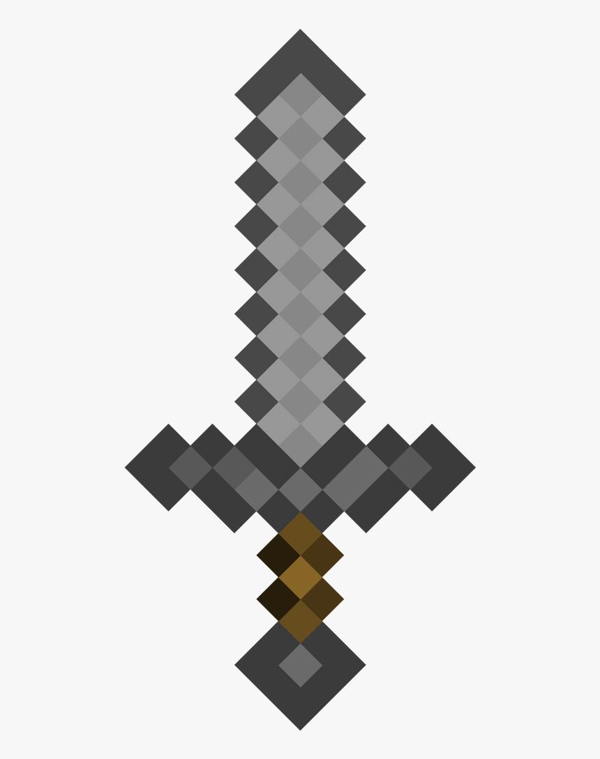 Minecraft Diamond Sword , Png Download - Transparent Minecraft Diamond Sword, Png Download, Free Download