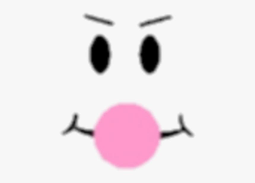 Roblox Face Picsart Roblox Bubble Gum Face Hd Png Download