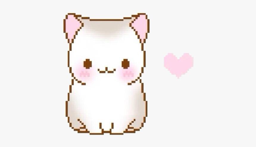 Cat Neko Aesthetic Kawaii Anime Art Sticker Cute
