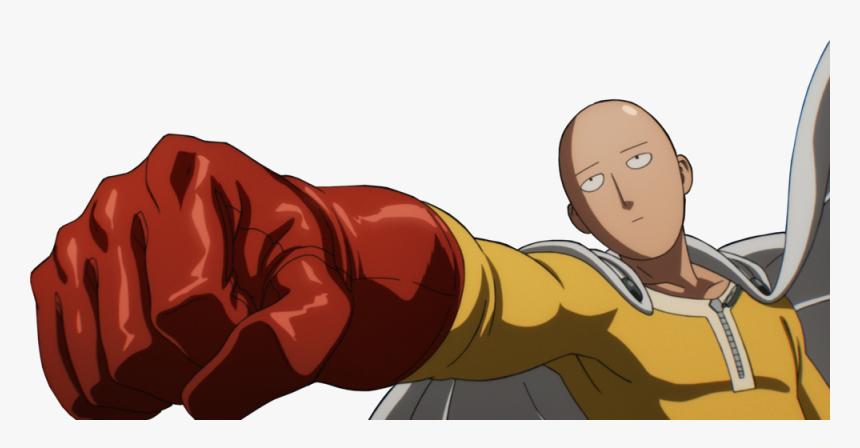 Saitama Punches Vaccine Man, HD Png Download, Free Download