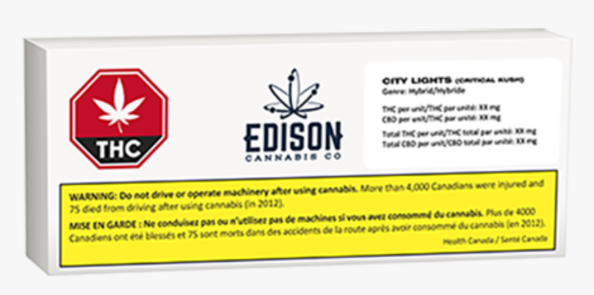 Edison Cannabis Co - Sign, HD Png Download, Free Download