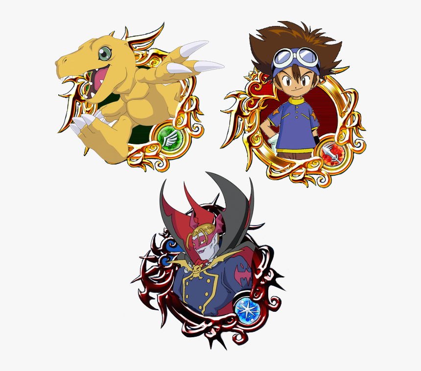 Kingdom Hearts Union X Medal Frames, HD Png Download, Free Download