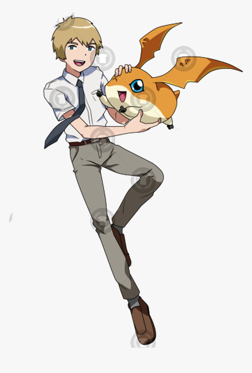 Digimon Tri Tk And Patamon, HD Png Download, Free Download