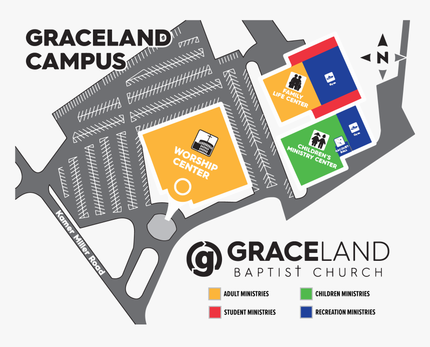 Graceland Baptist Church New Albany, HD Png Download, Free Download