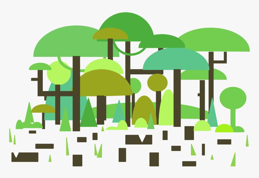 Deforestation Image - Illustration, HD Png Download, Free Download
