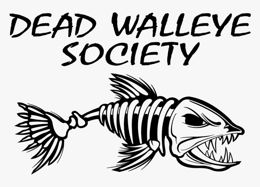 Jpg Black And White Stock Fishing Clip Art Dead Fish - Fish Bone Coloring Pages, HD Png Download, Free Download