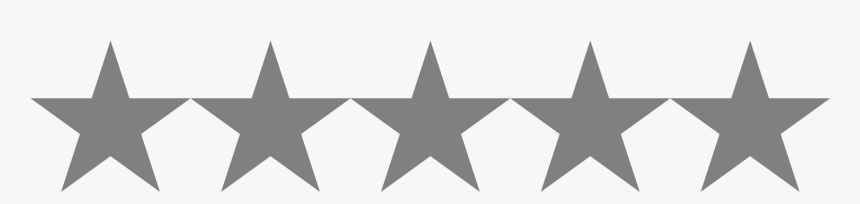 Line Of Stars Png - 2 5 Stars Png, Transparent Png, Free Download