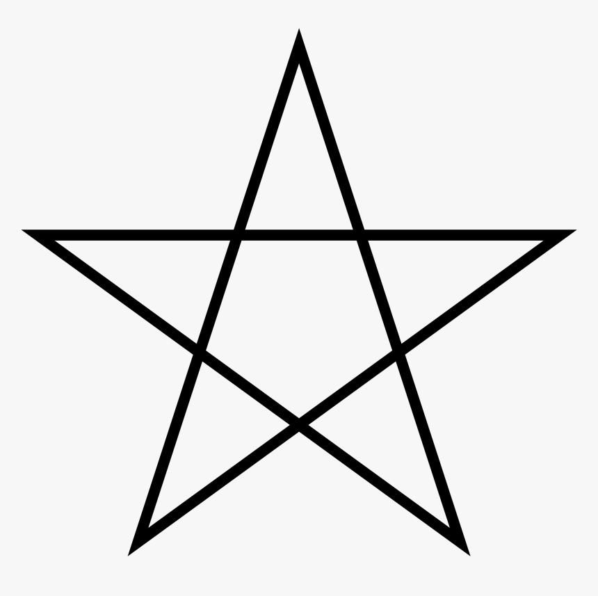 5 Point Star Png - Important Symbols Of Christianity, Transparent Png, Free Download