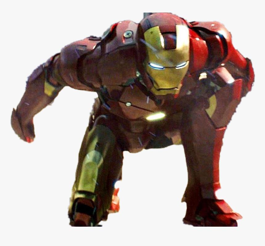 Iron Man Transparent Images - Iron Man Superhero Landing, HD Png Download, Free Download