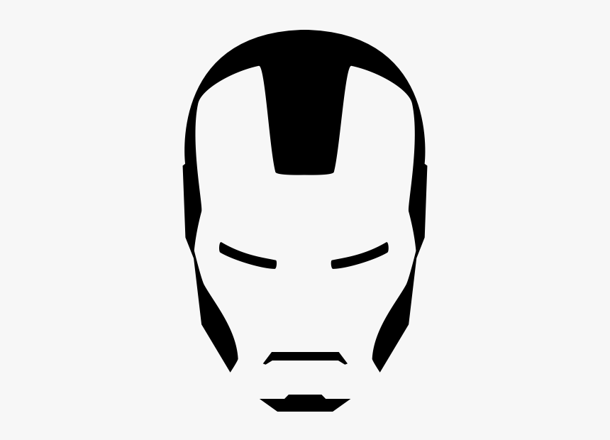 """Iron Man Rubber Stamp""""  Class=""""lazyload Lazyload Mirage - Iron Man Face Line Art, HD Png Download, Free Download"""