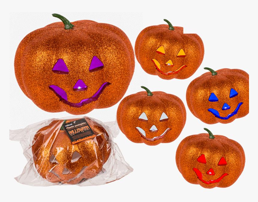 Calabaza De Halloween Plástico, HD Png Download, Free Download