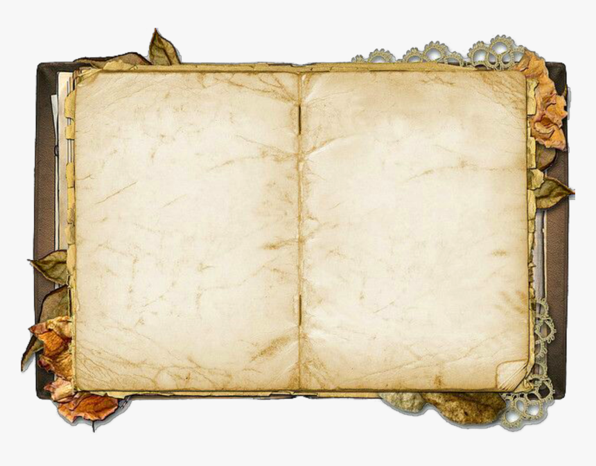 Old Open Book Png, Transparent Png, Free Download